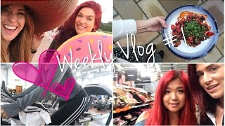 WHAT I DO IN THE GYM & WHAT I EAT | Weekly Vlog #1 | LoseitlikeLauren
