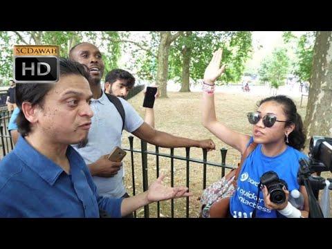 Xxx Mp4 P1 Adult 18 Mansur Vs Agnostic Girl Speakers Corner Hyde Park 3gp Sex