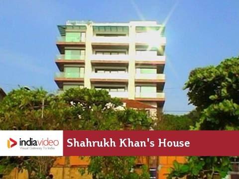 Shahrukh Khan's House In Mumbai - Mannat | Bollywood Celebrity Homes
