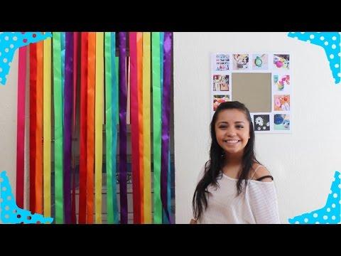 Cortina arcoiris para decorar tu puerta BigCrafts