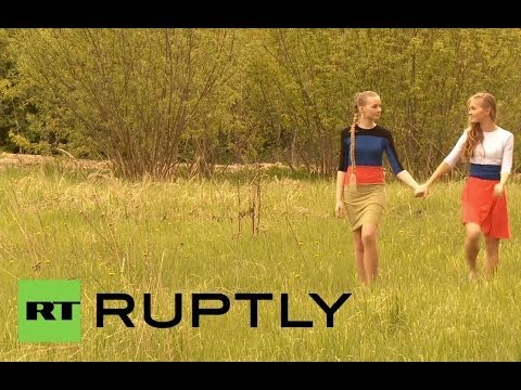 Xxx Mp4 Russia Models Pose In Photoshoot For Donetsk People S Republic 3gp Sex