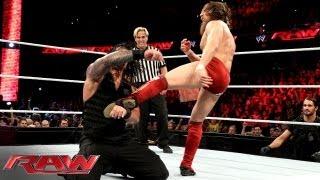 Daniel Bryan vs. Roman Reigns: Raw, Sept. 16, 2013