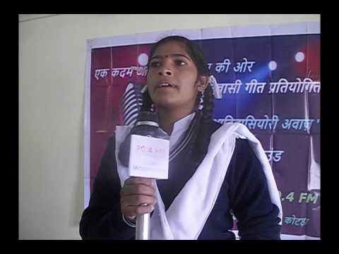 Babli Kumari  - MGAA - First Round Deshbhakti Section - 11-01-17- Maar Geet Adivasiyori Awaz
