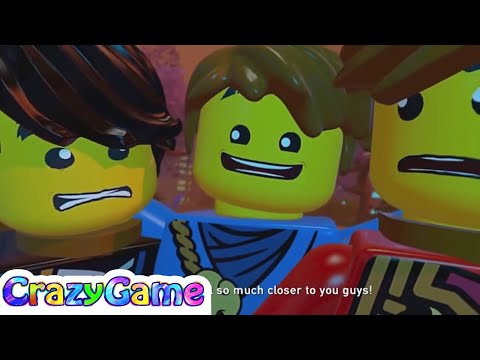 LEGO Ninjago Shadow of Ronin 100% Guide #6 Revenge of the Nindroids (Red Brick, Character Tokens)
