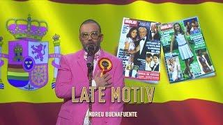 LATE MOTIV - Bob Pop canta el himno de España y otras cosas   #Latemotiv150