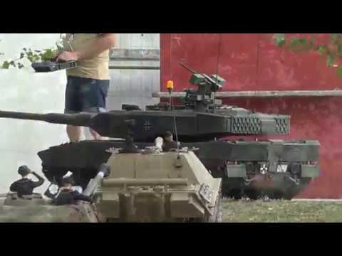 Giant 1 4 Scale Leopard 2 A7 V