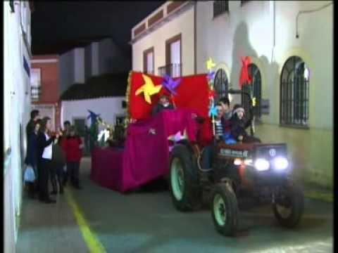 Cabalgata de Sus Majestades Los Reyes Magos de Oriente 2011. Puebla de Sancho Pérez