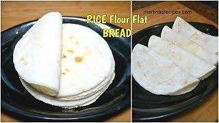 Chawal ki Roti | Soft Rice Flour Flat Bread | Zero Oil Recipe | Rice flour Roti