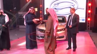 Imbala Launch   اطلاق سيارة امبالا من الجميح للسيارات شفروليه