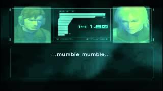 Metal Gear Solid 2 Sons Of Liberty - Pliskin Secret Codec Say