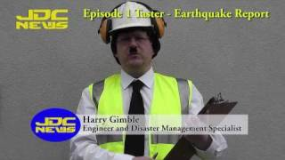 JDC News - episode 1 taster - earthquake report