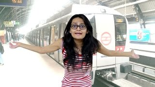Types of People in METRO | Indian Youtuber | DiviSaysWhat