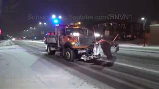 Stearns County, MN Snow Storm Travel Hazards - 11/28/2018