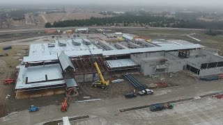 Aerial Video of Linda Lyon Elementary Construction