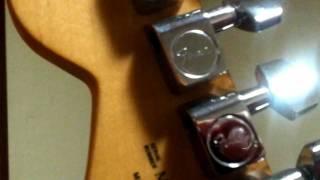 Fender Stratocaster Black MIM