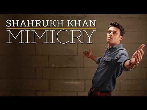 Best Shahrukh Khan Mimicry by JayVijay Sachan   Jab Tak Hai Jaan , Kal Ho Na Ho