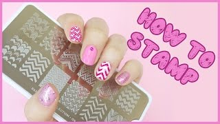 How To: Nail Art Stamping | Hayls World