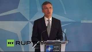 LIVE: Stoltenberg speaks to press at NATO-Russia Council meeting