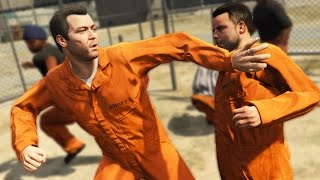 PRISON MOD RIOT SIMULATION! | GTA 5 PC Mods Gameplay