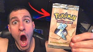 VINTAGE PACK PULLED! - Opening a Pokemon Cards MYSTERY BOX!