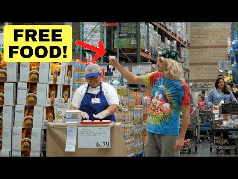 Clever Way To Get FREE FOOD!