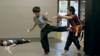 Fight Choreography at the Las Vegas Kung Fu Academy