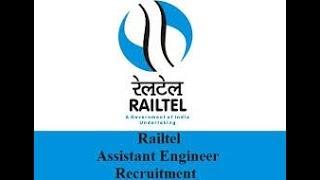 latest government jobs railtel corporation recruitment 2017-18 Pass Apply – Salary 54500/-