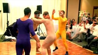 Devin Setoguchi's wedding dance video featuring Kris Versteeg and Jason Demers silly & hilarious