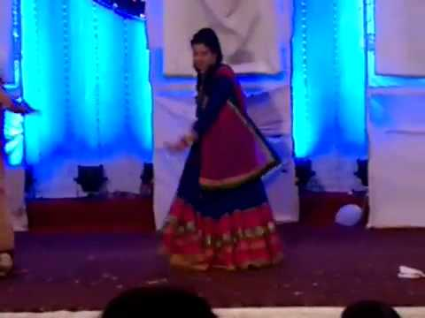 Dance on shubharambh(Kai po Che) by Teena and Kajal - @ Sanket&Rachita Sangeet Sandhya