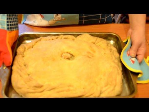 Пирог курник с курицей и картошкой простой рецепт