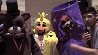 Five Nights At Freddy's Cosplay Compilation 2015