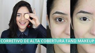 CORRETIVO DE ALTA COBERTURA FAND MAKEUP | Resenha | #NAYPOR1SEMANA