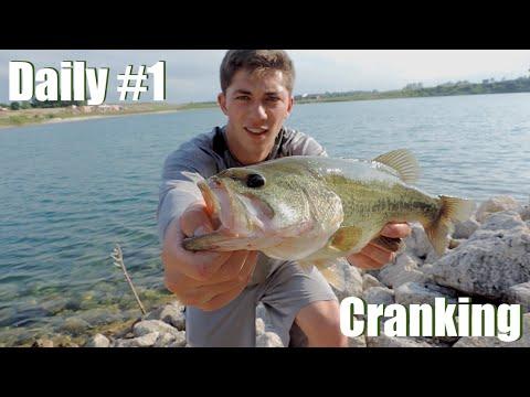 Bass Daily #1: Deep Summer Cranking (Vlog)