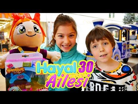#HayalAilesi alışverış merkezinde - çocuk dizisi Türkçe izle!