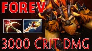 FoRev EarthShaker - 3000 Crit Damage with Divine Rapier - Dota 2 7.00