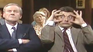Mr Bean - Falling Asleep in Church