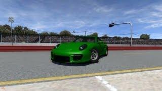 BeamNG Drive Alpha Crash Testing #20 Porsche 911 GT2 Beta