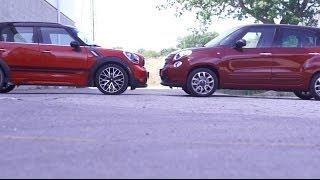 Compared: Fiat 500L vs Countryman JCW
