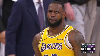 San Antonio Spurs vs Los Angeles Lakers | October 22, 2018