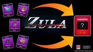 Zula - Merging Rare Cards for LEGENDARIES