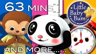 Growing Up Songs | Plus Lots More Nursery Rhymes | 63 Minutes Compilation from LittleBabyBum!