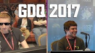 Funny & Cringy moments at SGDQ 2017