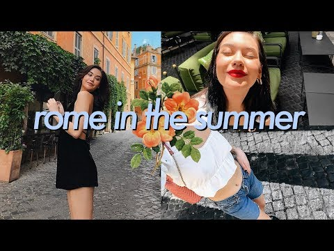 Travel Vlog: ROME, ITALY!!!!!    Amanda Steele