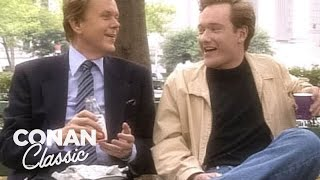 Conan Spends A Day With Doug Llewelyn - Conan25: The Remotes
