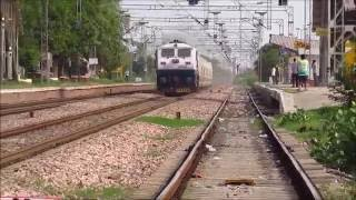 Exclusive Coverage of the 180 km/hr Spanish Talgo Train Trials on the Indian Railways..!!