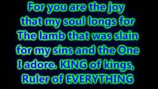 Hosanna [Kirk Franklin] Lyrics on Screen