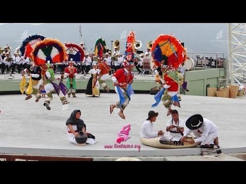 Guelaguetza 2015 Danza de la Pluma de San Bartolo Coyotepec 1er Lunes 10am