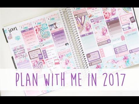 Plan With Me 2017 LittlePaperPrints Erin Condren Vertical