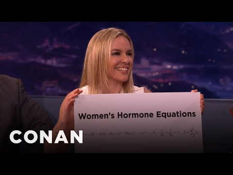 Sex Mathematician Clio Cresswell: Women's Hormone Equations vs. Men's Hormone Equ...  - CONAN on TBS