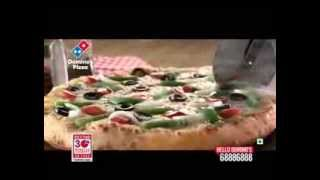 Domino's Commercial(Dec 2013)-Fresh Pan Pizza Product Shot(Latest Indian TV Ad)